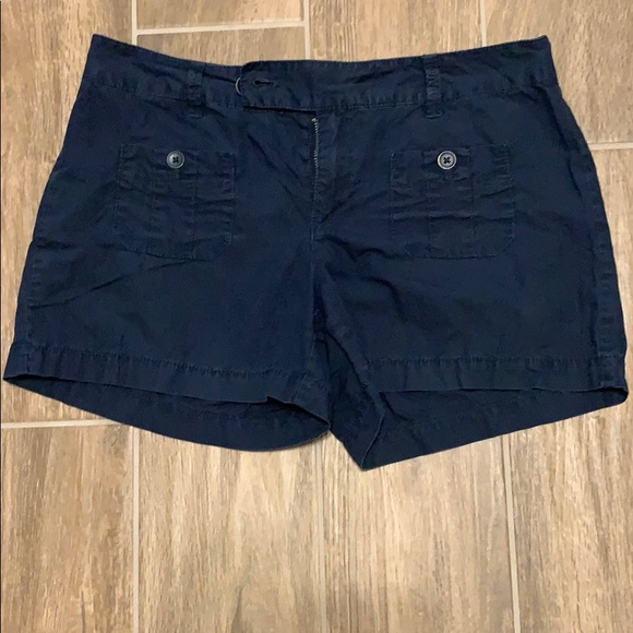 LOFT Pants - Loft navy blue shorts size 4